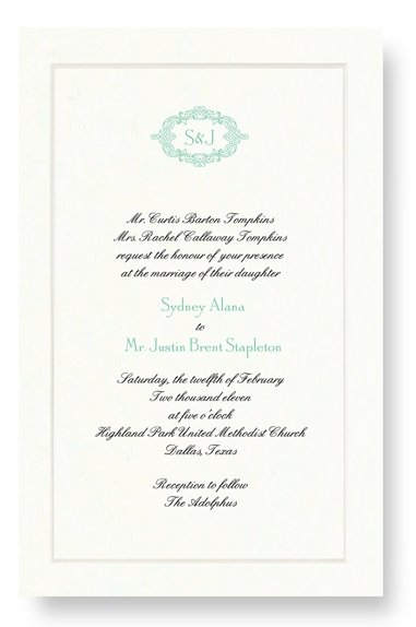 photo 21 of Maureen H. Hall Stationery and Invitations