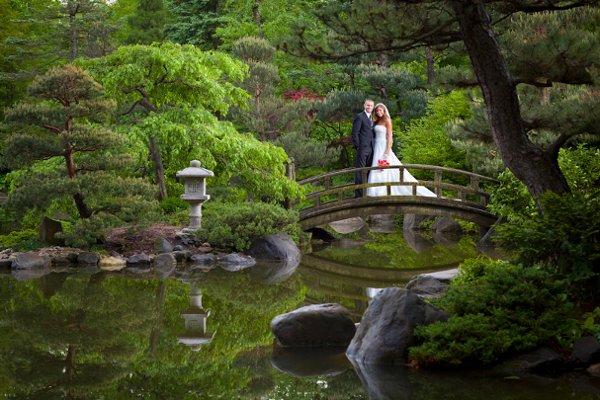 Anderson Japanese Gardens Rockford Il Wedding Venue