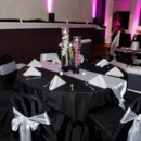 130x130 sq 1468438266700 silver table runners  sashes