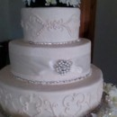 130x130 sq 1414431441886 larson wedding cake 6 21 14