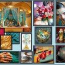 ::: Jewels Of India ::: Turquoise, Fucshia, Gold