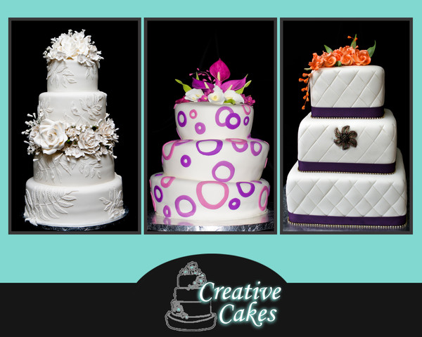 Creative Cakes and Candies - Melbourne, FL Wedding Cake