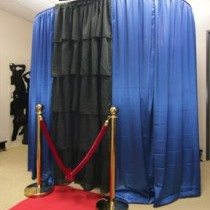 220x220 sq 1431641962881 blue photo booth 210x300
