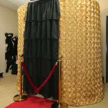 220x220 sq 1431641974003 gold photo booth