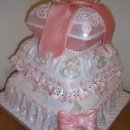 130x130 sq 1246680211222 christeningpillowcake