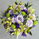 130x130 sq 1452898819248 purple  green bouquet2