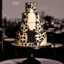 130x130 sq 1454640980953 black lace cake   victoria sprung photography
