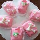 130x130 sq 1237504161343 pinkrolledfondantpetitfours