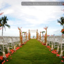 130x130 sq 1451347094107 beautiful wedding ceremony aisle decor featuring t