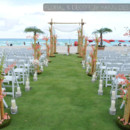 130x130 sq 1451347120355 beautiful wedding ceremony aisle decor featuring t