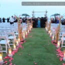 130x130 sq 1451347145670 candlelight aisle decor outdoor beach