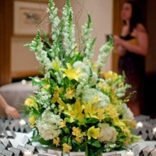 220x220 sq 1431805164126 place cards with yellow flora