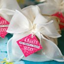 Adorn your wedding favors with these beautiful personalized designer gift tags to add a personal touch to your event.