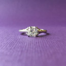 130x130 sq 1445270783286 engagement ring cushion solitaire dallas