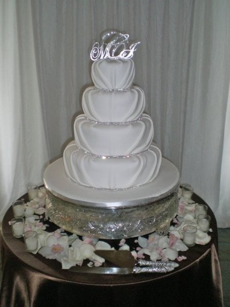 wedding cake florida delicacies custom cakes miami fl wedding cake 22665
