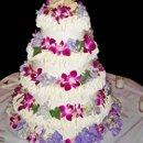130x130 sq 1340723862838 purpleflowercake