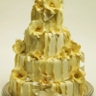 96x96 sq 1229045475229 yellow ruffle cake