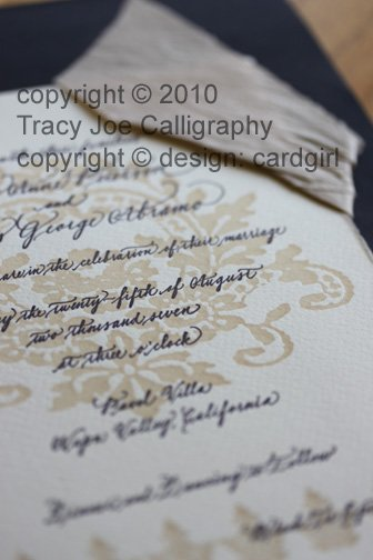 photo 6 of Tracy Joe Calligraphy