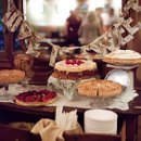Tarts, pies and cheesecake gives your guests a wonderful selection of treats.