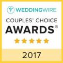130x130 sq 1487463987396 wedding wire couples choice award 2017
