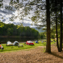 220x220 sq 1376586938952 lakefront camping at montfair