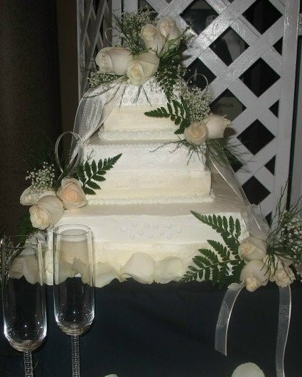 pictures of a wedding cake all ours catering catering indian trail nc weddingwire 18385