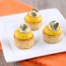 220x220 sq 1475266785469 pumpkin risotto tart