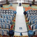 Custom aisle and ceremony decor