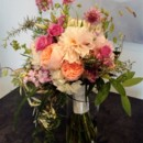 130x130 sq 1489087650190 pink and peach bouquet