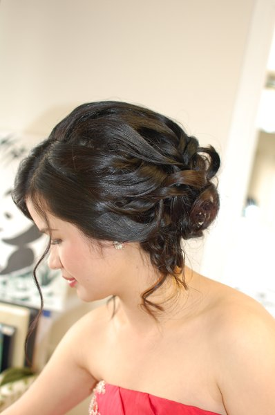 photo 3 of Bridal hair & make-up by Amy Tevis