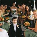 130x130 sq 1332282116261 weddingpartyinsidelimobus2