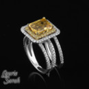 130x130_sq_1372368469589-yellow-sapphire-double-halo-white-gold-wedding-set-1