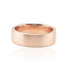 220x220 1463514244227 mans wedding ring brushed rose gold band 7mm wide