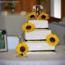 130x130 sq 1339078793554 sunflowerweddingcake