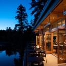 130x130 sq 1382653098975 exteriortherestaurantatpaintedboat on the water