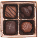 130x130 sq 1388500264951 4 piece chocolate favor assortmen