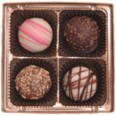 130x130 sq 1388500267013 4 piece chocolate truffle favor assortmen