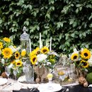 130x130 sq 1335506343234 sunflowertablescape0