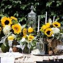 130x130 sq 1335508082189 sunflowertablescape14