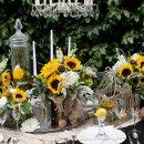 130x130 sq 1335509413619 sunflowertablescape22
