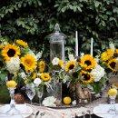 130x130 sq 1335509983860 sunflowertablescape26