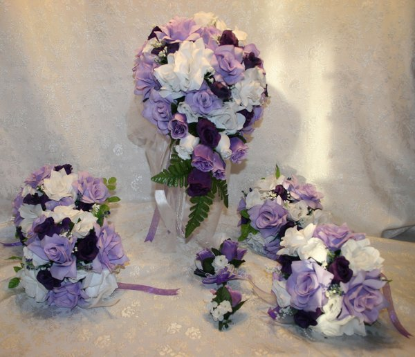photo 2 of bridalsilkflowers