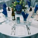 130x130 sq 1256160725129 blueandwhiteweddingtable