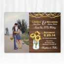 130x130 sq 1468088798470 weddinginvitationwoodsunflowersphoto
