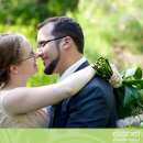130x130 sq 1297696092897 weddingphotosphotoofthebrideandgroomtouchingnoses