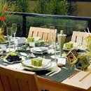 130x130 sq 1253031324700 outdoorgreentablescape