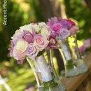 130x130 sq 1321132657296 weddingflowersminneapolispinkroseandorchidbouquets2