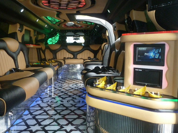 1401917419338 Inside Hummer Limo   Copy Alexandria wedding transportation