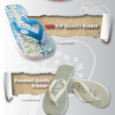 Custom party flip flops, partyflops #thebestflipflop