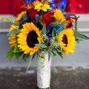 130x130 sq 1330475245303 sunflowerautumnbridalbouquet